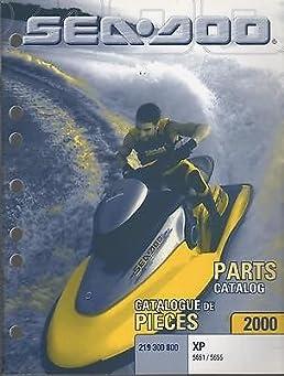 2000 sea doo watercraft xp 5651 5655 parts manual p n 219 300 800 rh amazon com 1998 seadoo xp parts manual 96 seadoo xp parts manual