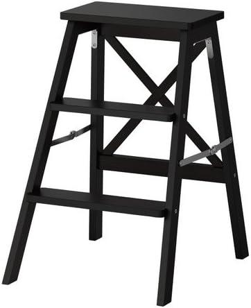 Ikea BEKVAM – Escalera, 3 Pasos, Negro – 63 cm: Amazon.es: Hogar