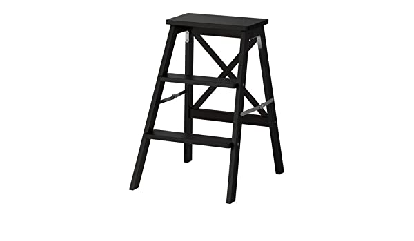 IKEA maco import bekväm de madera con 3 niveles de 63 cm de alto negro: Amazon.es: Hogar