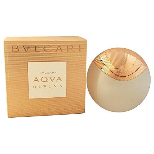 Divine Fragrance (BVLGARI Eau de Toilette Spray for Women, Aqva Divina, 2.2 Ounce)