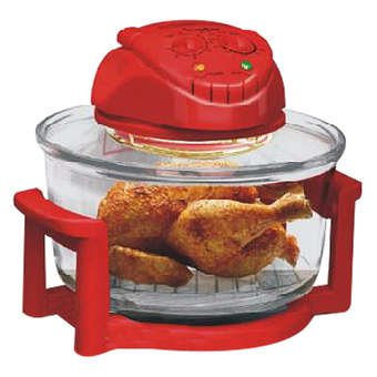 Tureen turbo model IB-704 12-liter sizes. (Turbo Broiler Oven compare prices)