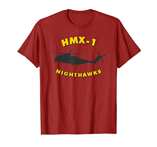 (HMX-1 Nighthawks Presidential Helicopter Squadron CH-53 Tee)