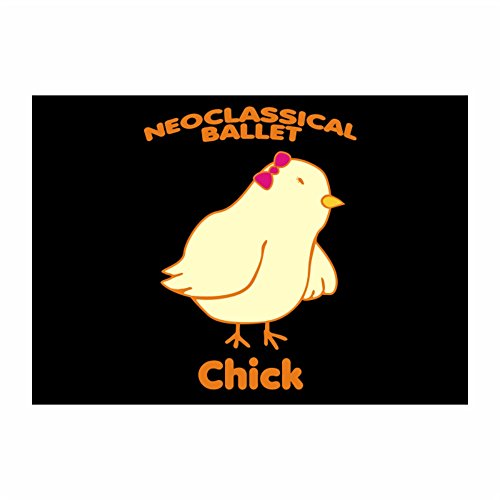 Chick Ballet - Idakoos - Neoclassical Ballet CHICK - Sports - Sticker Pack x4