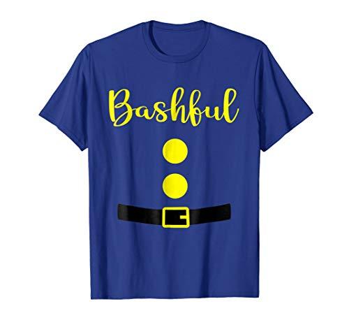 Bashful Dwarf Costume T Shirt Funny Halloween Gifts