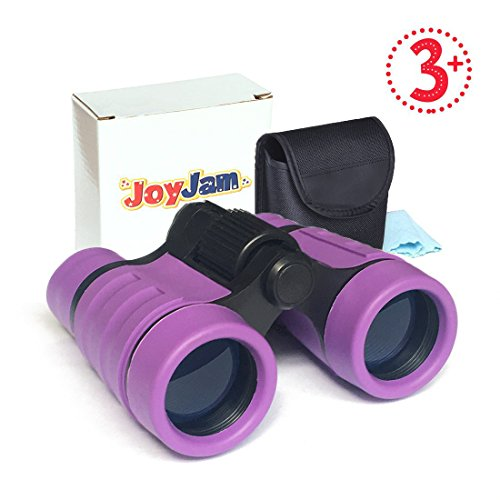 Joyjam Toys for 3-6 Year Old Girls, Girls Binoculars for Kids Pocket Small Binoculars Gifts for Girls Age 5-8 (Science New For Kids)