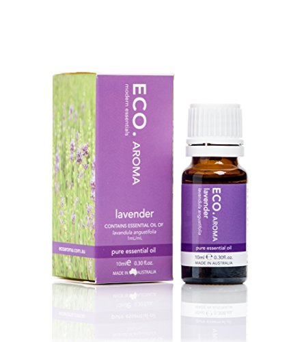 Woody Floral Scent (ECO. Lavender Essential Oil, light, floral and woody scent, healing, relaxing, Made in Australia, 0.3 oz)