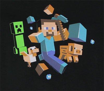 Minecraft - Run Away Youth T-Shirt