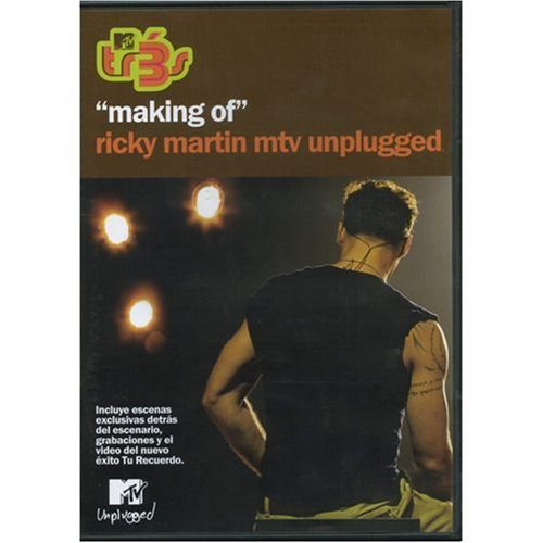 TR3 Making of Ricky Martin MTV Unplugged - La Otra - World The Shop Princeton