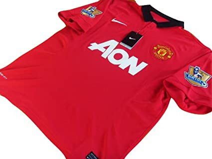 f15d783b9c7 Image Unavailable. Image not available for. Color  NEW 2013-14 Manchester  United Home CHICHARITO ...