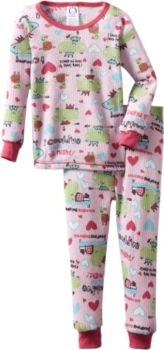 Gerber Baby Girls' 2 Piece Francine Ballerina Thermal Set