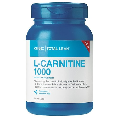 GNC Total Lean L-Carnitine 1000 60 Tablets