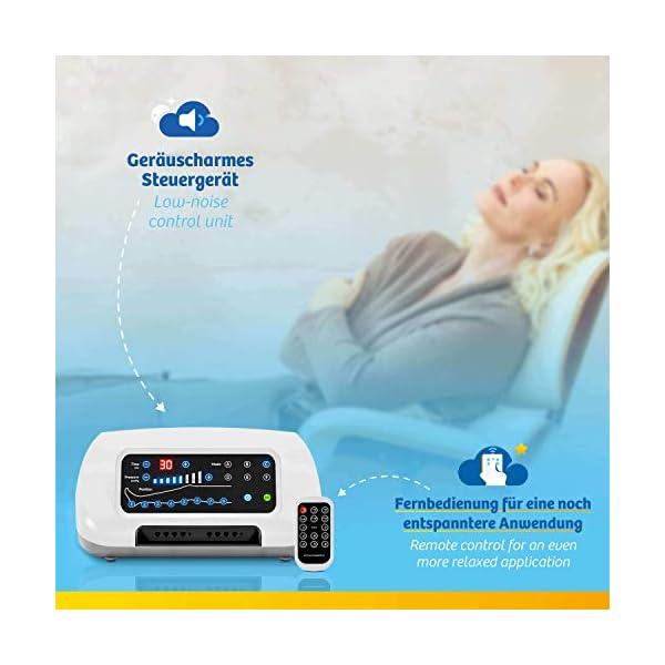 Vein Angel 8 Premium apparecchio per massaggi con gambali, 8 camere d'aria disattivabili, pressione & durata facilmente… 6 spesavip