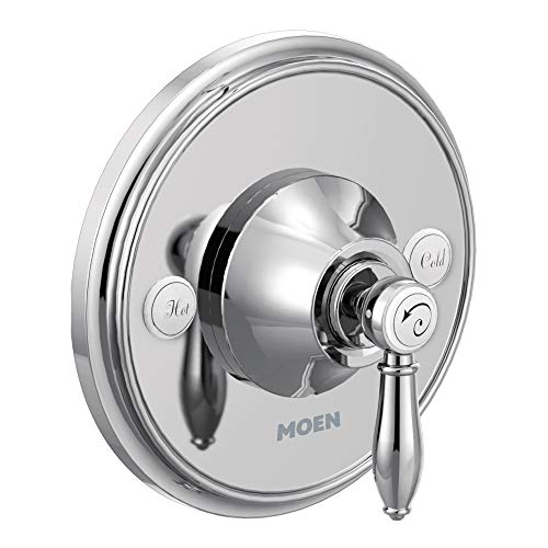 Moen TS33101 Weymouth One-Handle Shower Valve Trim Kit with Moentrol, - Shower Moentrol Chrome