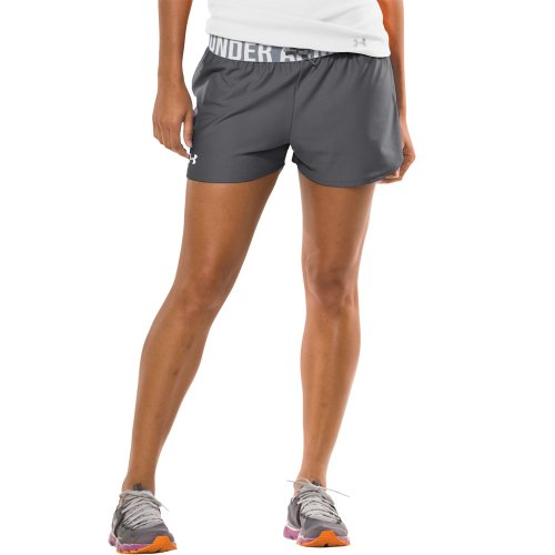 "Under Armour Play Up 3"" Short - Womens Graphite X-Small"