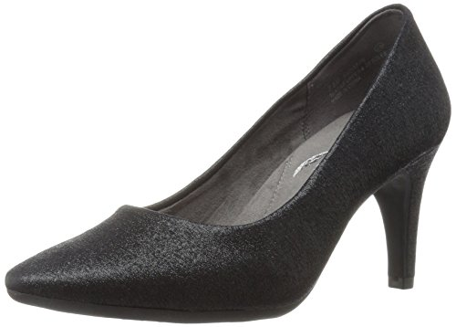 Exquisite Women's M Black Black Pump Aerosoles US Leather 5 Sparkle 5RB6qTTwa