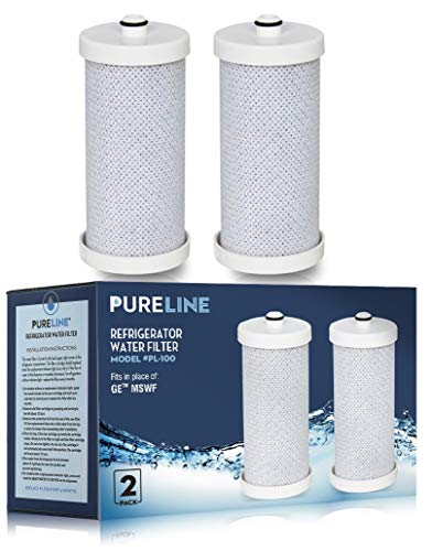 Frigidaire WF1CB and RG-100 NSF & WQA Certified Replacement Water Filter with Advanced Filtration. Also Fits RF100, WFCB, NGRG-2000, NGRG-1000 and Kenmore 46-9910, 46 9906 by PureLine (3 - Puresource Rg100