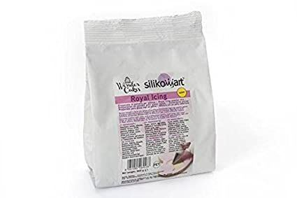 silikomart 99.013.04.0001 - Preparado para Glasa Real en Polvo para Decorar Tartas Amarillo