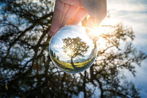 MasBros 80mm/3.15'' LensBall Pro K9 Clear Crystal Ball Glass Ball Photography Accessory by MasBros (Image #3)