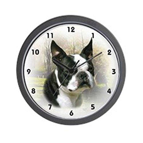 CafePress - Boston Terrier Wall Clock - Unique Decorative 10