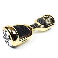 Bluefin Elektro Scooter E-Balance Skateboard 6.5 Zoll | Integrierte Bluetooth Lautsprecher & App | Leiser Motor | Für Kinder & Erwachsene | Samsung Batterie | UL 2272 & CE Getestet | Inkl. Tragetasche