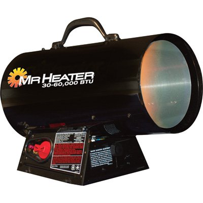 Mr. Heater MH60FAV Workshop Constuction Forced Air LP Heater