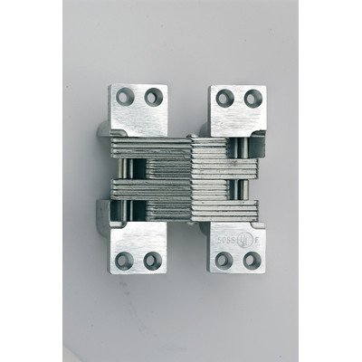 SOSS 420SS Stainless Steel 180 Min. Fire Rated Hinge for 2'' Metal Doors, Satin Stainless Steel Exterior Finish by SOSS