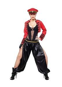 Cesar - Disfraz de soldado militar para mujer, talla 42 - 44 (C790-003)