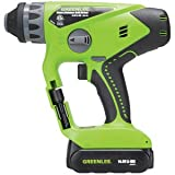 Greenlee LRH-144 Rotary Hammer Drill Driver Kit 14.4v Review