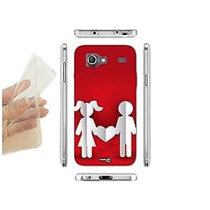 FUNDA CARCASA SLIM PAPER LOVE PARA SAMSUNG GALAXY S ADVANCE I9070 TPU