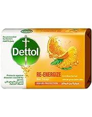 Dettol Anti-Bacterial Re-Energize Bar Soap, 85 gm