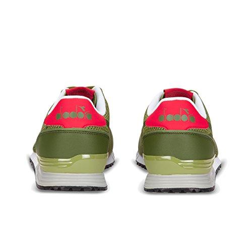 Diadora Titan Weave, Sneaker Uomo C6640 - Verde Olivina-verde Salvia