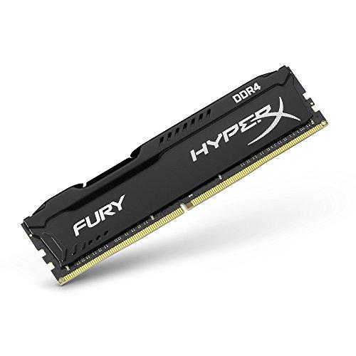 شراء Kingston Technology HyperX Fury Black 32GB 2666MHz DDR4 CL16 DIMM Kit of 2 (HX426C16FBK2 / 32)