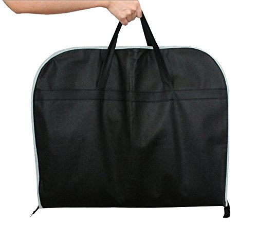 huaneinei Men Women's Clothes Suit DressStorage Folding Cover Bag Garment Bag (39 in) by huaneinei (Image #2)