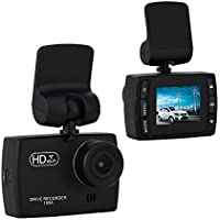 ULU Dash Cam 1.5 1920 x 1080 170 Degree Wide Angle Dashboard Camera Recorder Built-in WiFi, G-Sensor & WDR Superior Night Mode with 32G TF Card