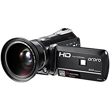 Amazon.com : ORDRO Infrared Camcorder 1080P Full HD Video ...