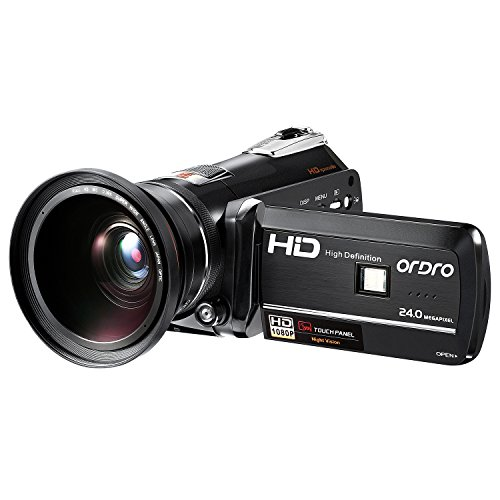 ORDRO Camcorder Vision Camera Digital