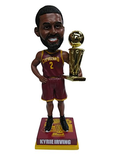 Kyrie Irving Cleveland Cavaliers 2016 NBA Champions Special Edition Wine Jersey Bobblehead Bobble head - Individually Numbered to 186