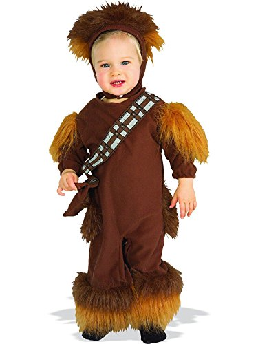 Chewbacca Girl Costumes (Rubies Chewbacca Infant Halloween Romper Costume | 11681)