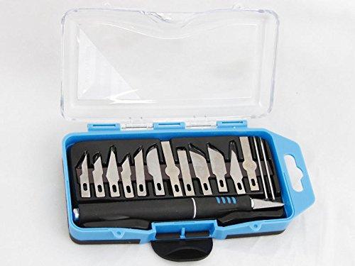 16 PCs Crafting Art Creative Creation Beading Precise Cutting Blade Tool Set Pellets 1 Buck