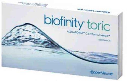 große Vielfalt Stile billiger verschiedenes Design Cooper Vision Biofinity 3Rd Gen Toric (3 Lenses/Box)