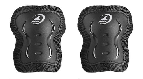 Rollerblade Bladegear XT Knee Pads, Black, Medium