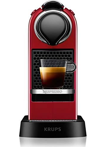 Krups Cafetera expresso Nespresso Citiz rojo yy2731fd
