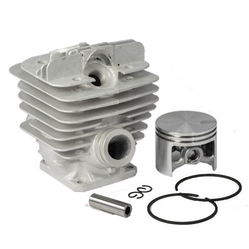 Cylinder Piston Rebuild Kit Assembly for STIHL 036 MS360 Chainsaws 48mm, Model: CY012, Outdoor&Repair Store by Hardware & Outdoor