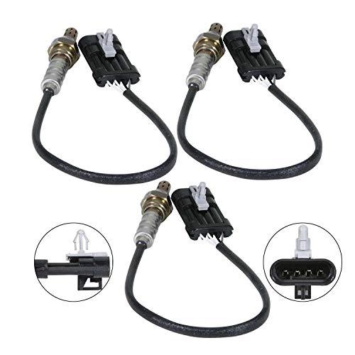 3PCS O2 Oxygen Sensor 234-40123 For Chevy Blazer S10 GMC Jimmy Olds Bravada 4.3L 2001-1996 ()