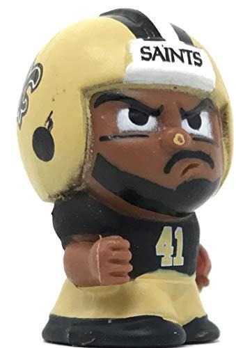 Party Animal 2018 TeenyMates Series 7 NFL New Orleans Saints Alvin Kamara Single Mini Figure Minifigure ()