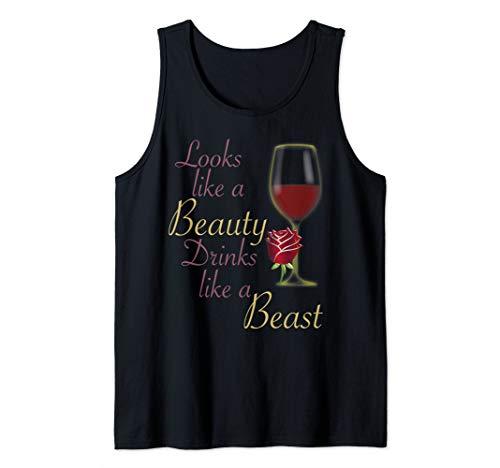 Looks Like a Beauty Drinks Like a Beast Shirt Tank Top