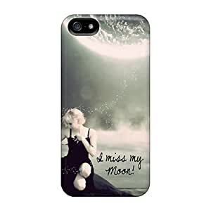 DaMMeke Premium Protective Hard Case For Iphone 5/5s- Nice Design - I Miss You