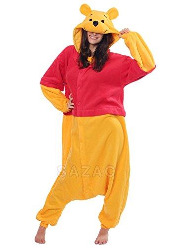 Winnie the Pooh Kigurumi (Adults) (Winnie The Pooh Costumes For Adults)