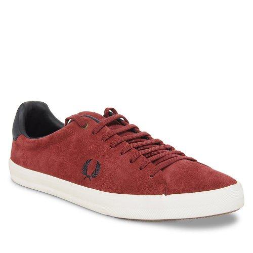 Fred Perry Howells Herren Sneaker Rot