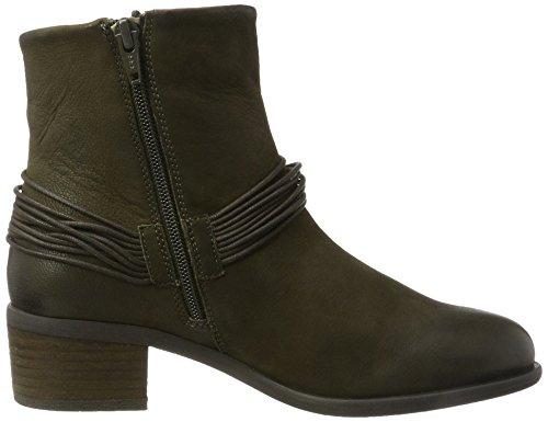 Kaki Green Boot Ankle para Olga Mujer Chelsea SPM Botas 05106 Verde BwqSTER